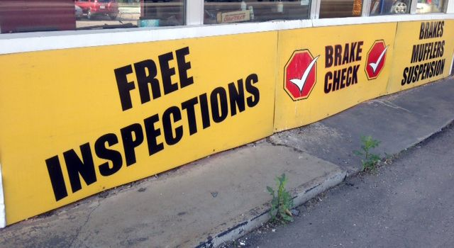 Brake Check FREE INSPECTIONS