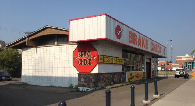 Brake Check store and parking lot